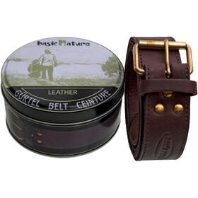 Basic Nature Classic Money Belt in box, mokka
